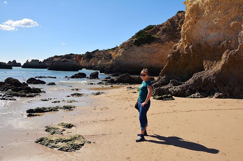 Bezkresnepodroze naplaży Praia doVau.