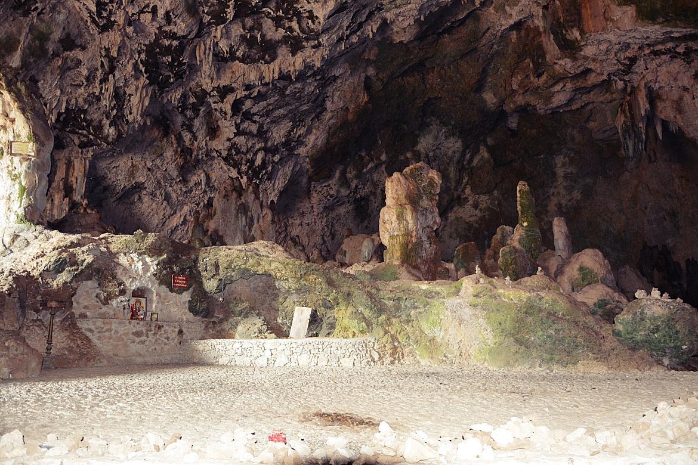 wąwóz Topolia jaskinia Agia Sofia