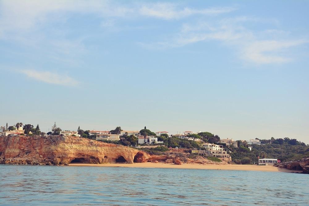 Plaża Praia doPintadinho wFerragudo.