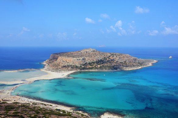 Plaża Balos naKrecie.