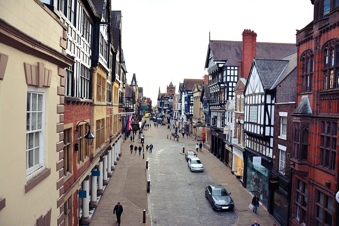 chester old city wales