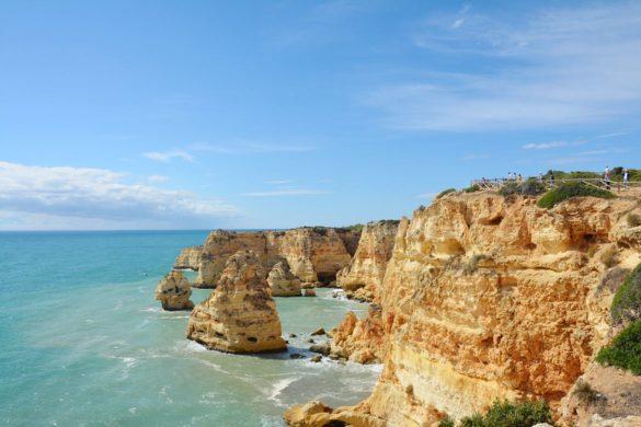 Najpiękniejsza plaża Algarve.