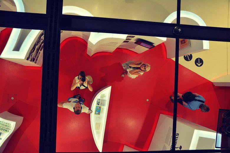 Szklany sufit Europejskie Centrum Solidarność.