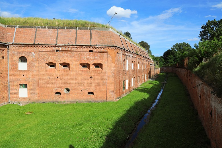 Sucha fosa - Fort IV wToruniu.