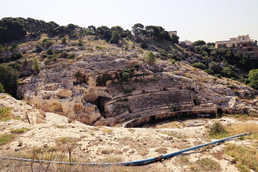 ruiny rzymskiego amfiteatru cagliari 1