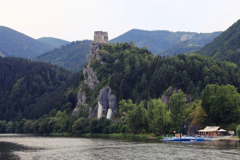 Zamek Streczno koło Żyliny.